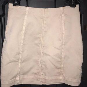 Free people vintage white skirt